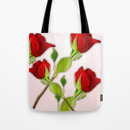 Red Rose For My Valentine Day Tote Bag
