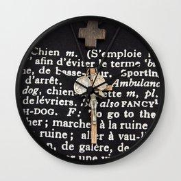 WATCH-DOG - Rome - Italy Wall Clock