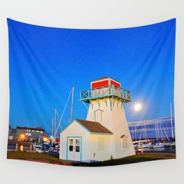 Summerside Harbour lighthouse Wall Tapestry