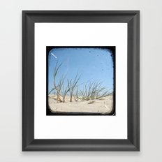 Sand Dunes - Through The Viewfinder (TTV) Framed Art Print