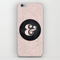 ampersand iPhone & iPod Skins featuring ampersand by StudioAmpersand