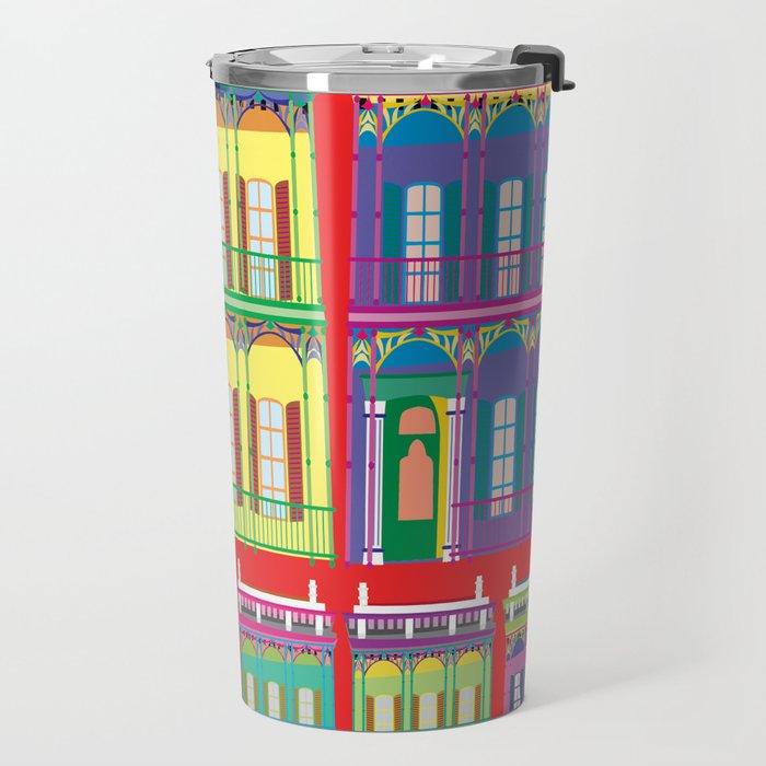 NEW ORLEANS HOUSES Travel Mug