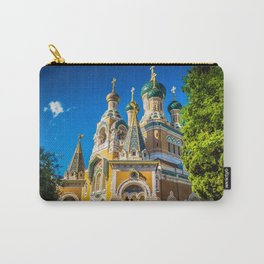 Russian Orthodox Cathedral, Nice France Carry-All Pouch