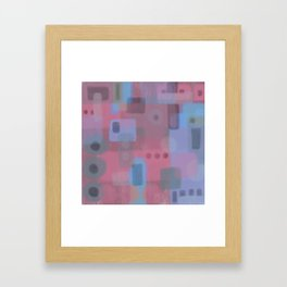 Some of this and that 2 - Abstract Digital Art Framed Art Print