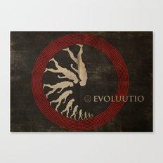 Evoluutio (Evolution) Canvas Print