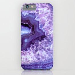 Purple Lavender Quartz Crystal iPhone Case
