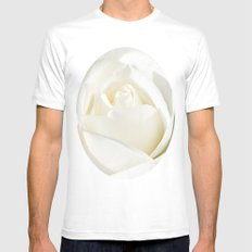 Pale Mens Fitted Tee MEDIUM White