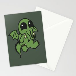 Cute Cthulu  Stationery Cards