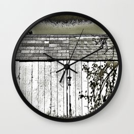 WHAT'S IN THE SHED! Wall Clock
