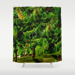 Magic of Trees Shower Curtain