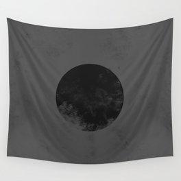 Black Japan Flag Wall Tapestry