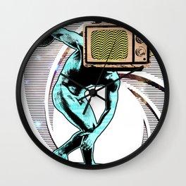 Diskus TV 3 Wall Clock