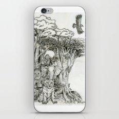Jungle Friends iPhone & iPod Skin