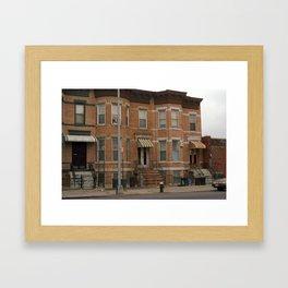 Brooklyn House 2001 #3 Framed Art Print