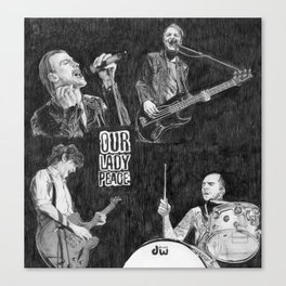 OLP Canvas Print