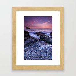 The Sun and the Sea Framed Art Print