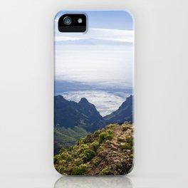 Tenerife's landscape iPhone Case