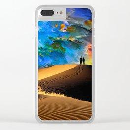 Walk In Love Clear iPhone Case