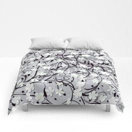 Floral carpet Comforters