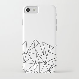 Ab Peaks White iPhone Case
