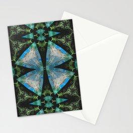 Jade Lagoons Stationery Cards