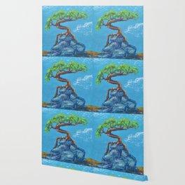 Blue Bonsai Wallpaper