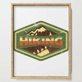 Hiking Is Freedom Serving Tray