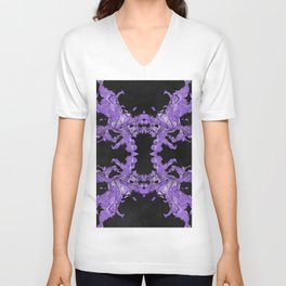 crash kaleidoscope Unisex V-Neck