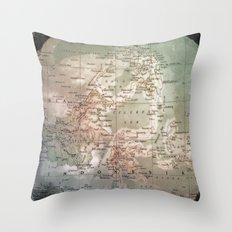 atlas - indo Throw Pillow