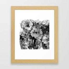 Floral Enchantment No.17D by Kathy Morton Stanion Framed Art Print