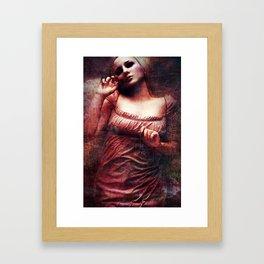 Lividity Among The Dead Framed Art Print