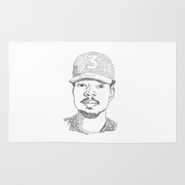 Chance the Rapper Poster Rug