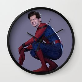 peter parker Wall Clock