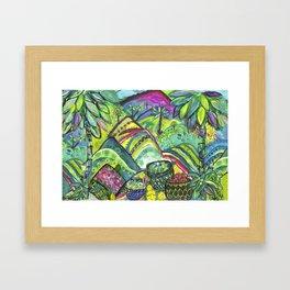 Lush Abundance Framed Art Print