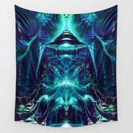 Platea - Fractal Manipulation - Visionary Art - Manafold Art Wall Tapestry