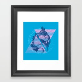 For the Birds Framed Art Print