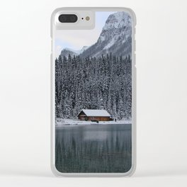 Lake Louise: Home Is Canada Clear iPhone Case