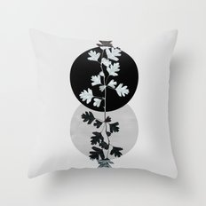 Geometry and Nature II Throw Pillow