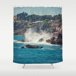 Boca do Inferno Shower Curtain