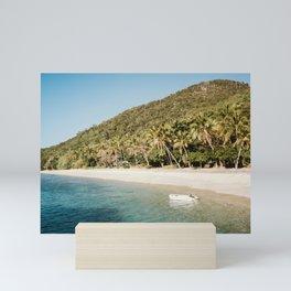 Fitzroy Island | Cairns Australia Tropical Island Beach Sunset Travel Photography Mini Art Print