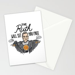 The Ruth Will Set You Free Stationery Cards
