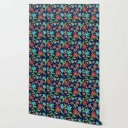 Rainbow Batik Wallpaper