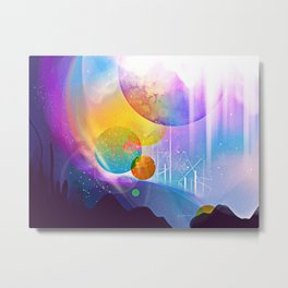 Dimethyltryptamine Metal Print