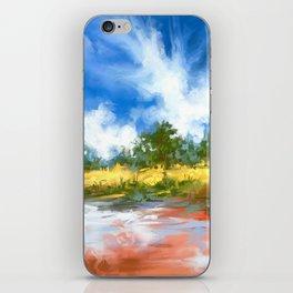 Summer Lake landscape iPhone Skin
