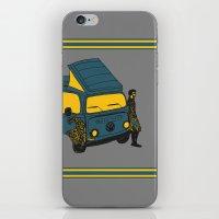 van iPhone & iPod Skins featuring Van by AndaLouz
