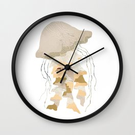 Jelly Paper #1 Wall Clock