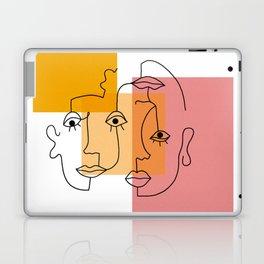 COLOR BLOCK FACES Laptop & iPad Skin