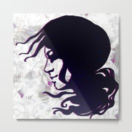 'blowin in the wind' Metal Print