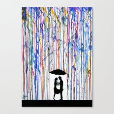 Touche Canvas Print
