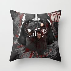 When there's no more room in Hell....Vader. Throw Pillow